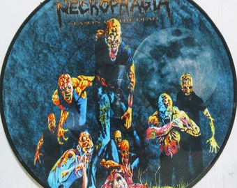Necrophagia Picture Disc Lp Season Of The Dead Brutal Metal