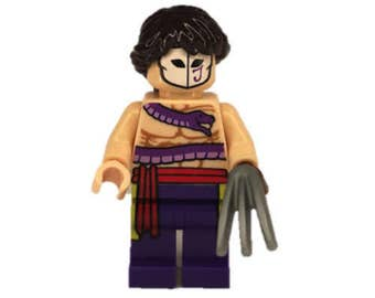 Custom LEGO minifigures -  Street Fighter Vega Made with Original LEGO Parts