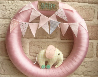 Baby Wreath, Nursery Decor, New Baby. Baby Shower