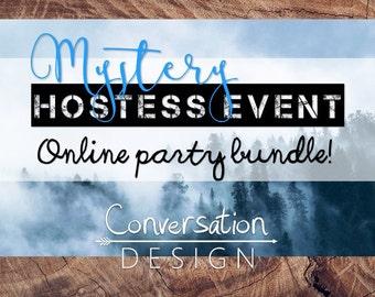 SALE, NEW, Mystery Hostess, Direct Sales, Online Party, Graphics, Bundle