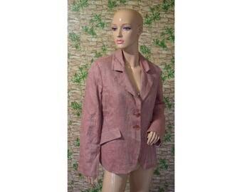 Vintage DIDI ® women blazer linen Made in Italy