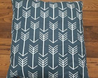 soft arrow pillow
