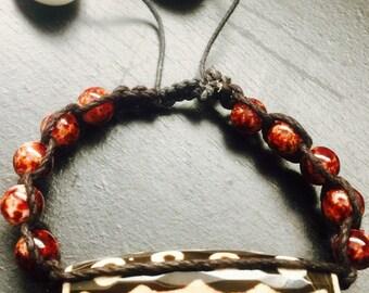 Beaded Voodoo Bracelet Christmas gifts Men jewelry Friendship bracelet Couples bracelet Anniversary gift for boyfriend gift for girlfriend