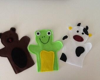 Toddler Felt Hand Puppets