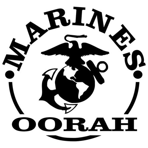 Vinyl Decal Sticker - Marine Corps Decal for Windows, Cars, Laptops, Macbook, Yeti, Coolers, Mugs etc