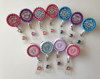 Labor and delivery and OB badge reel