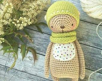BEAR crochet pattern