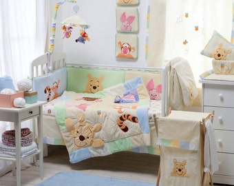 Disney Hiding Pooh Crib Bedding Collection 4 Pc Crib Bedding Set