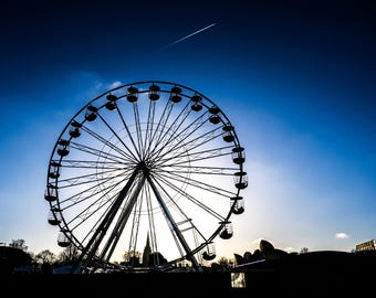 Cambridge photography, street photography, Wheel of Cambridge, fine art photography, funfair