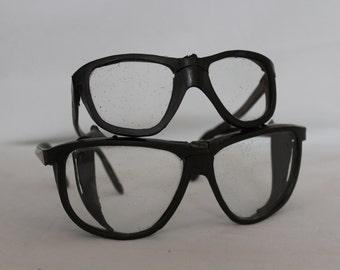 Soviet protective.Protective glasses.Rare goggles.Workers Soviet goggles.Protective goggles.Eye protection.Vintage glasses.Soviet protection