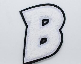 B varsity letters
