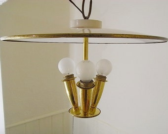 mid century ceiling light chandelier lamp lamp 50s design