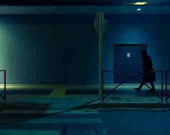 "night # 6-20 x 30 cm. Series ""at rest"""