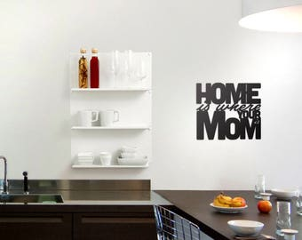Home Is Where Your Mom Is - Wall Decor