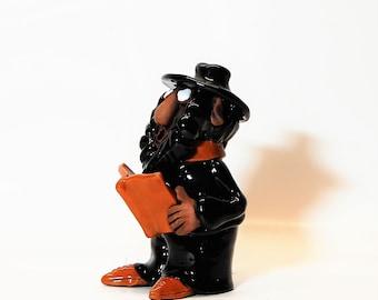 Doctor figurine .Physician.Dentist.Figurine with humor.Figurine dentist