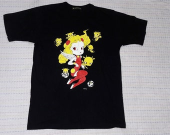 vintage 24 hour tv T shirt black colour size L