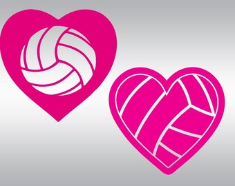 Volleyball svg cut files, Valentine's day svg, Volleyball svg, Girls svg, SVG Files, Cricut, Cameo, Cut file, Clipart, Svg, DXF, Png, Eps