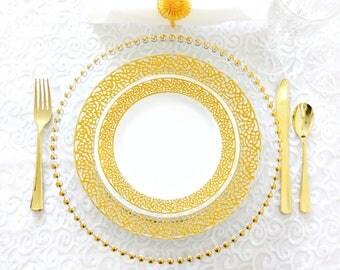 Inspiration Collection Dinner and Salad Plates for 200 Guests- Private Listing
