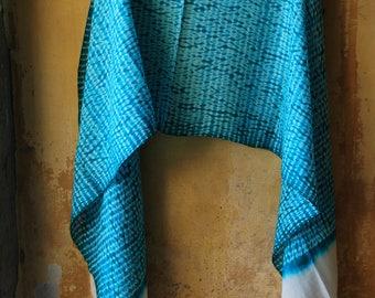 Shibori Silk  Stole