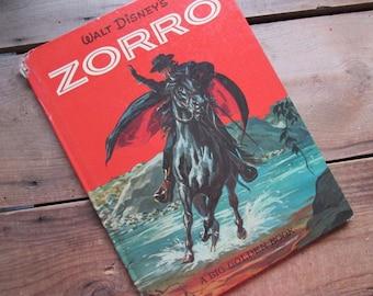 Zorro Children's Book Walt Disney Big Golden Book