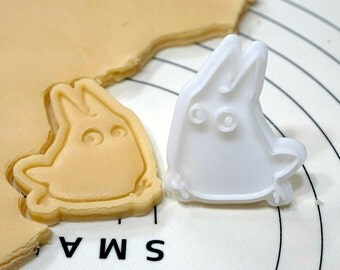 Totoro Small Cookie Cutter and Stamp