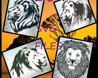 LION SVG FILES - Lion Svg files for Cricut