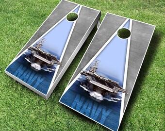 US Navy Cornhole set