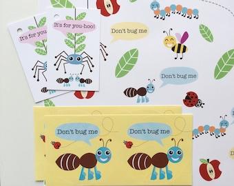 Don't Bug Me Gift Wrap Set