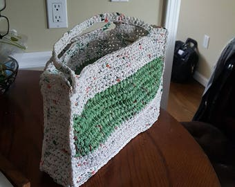 crochet recycle plastic bags