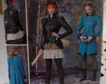 Steampunk Aviatrix costume pattern Simplicity S0497 Arkivestry Size 14-22