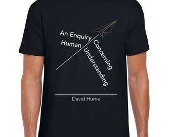 Hume's Philosophy quote art t shirt