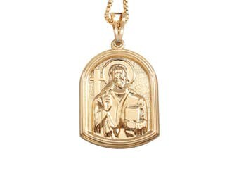 Jesus pendant blessed in church of the holy sepulchre, christian gifts, baptism gift, jesus pendant, christian jewelry, catholic gifts,
