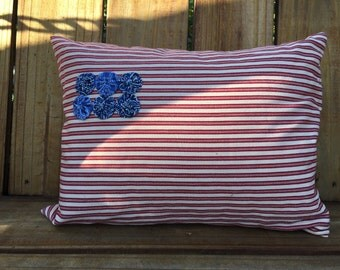 Yoyo Flag Pillow