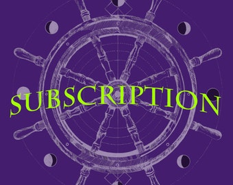 Turn of the Wheel Zines 2017 1-YEAR Subscription