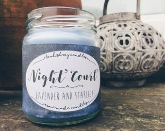 The Night Court | A Court or Court of fog and Mist and Fury/Rage | Lavender and Starlight