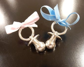 3.9 oz Solid .999 Silver Pacifier boy & girl infant perfect Baby shower gift expecting *perfect gift for the person who already has it all!