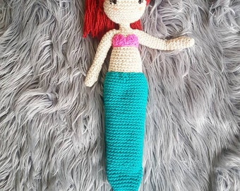 Ava The Mermaid Crochet Plushie