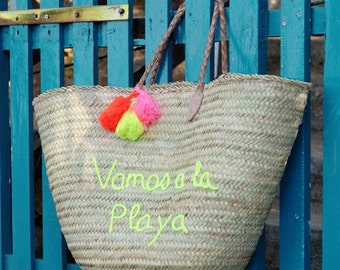 Large bag of beach VAMOS A LA PLAYA