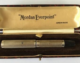 Mordan Everpoint fountain pen 1930s