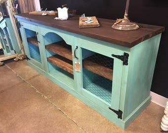 Handcrafted *Made-To-Order* Custom Media Console / Buffet / TV Stand / Cabinet