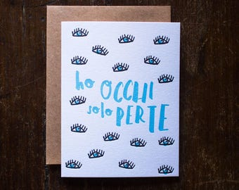 LOVE LETTERPRESS CARDS