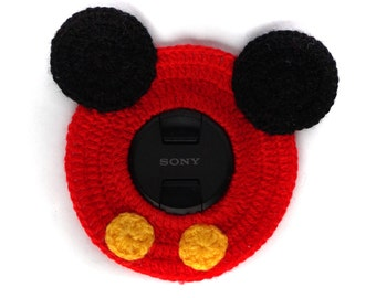 Camera Lens Buddy -  Photography Prop - camera accessories - mickey mouse inspired disney
