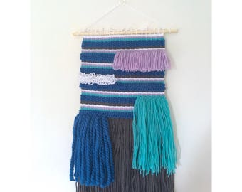 Large weave wallhanging