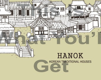 Korean Architecture Clip Art photo for your art projects/ clipart/ scrapbook