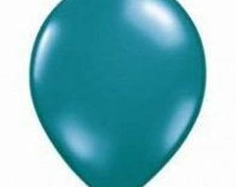 28cm Jewel Teal Latex balloon