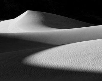 Dunes Sunrise matted fine art archival print