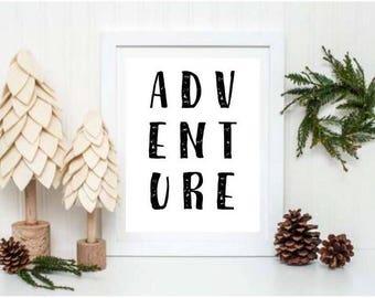 Adventure Printable II