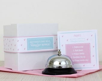 Mother's Day gift bell - Personalised