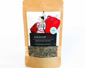 3 Bags of Solidariteas (Mint, Chamomile, Earl Grey - your choice)