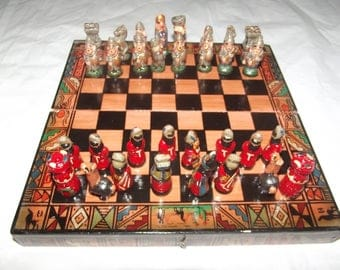 Chess Set Spanish Conquistador/Incan